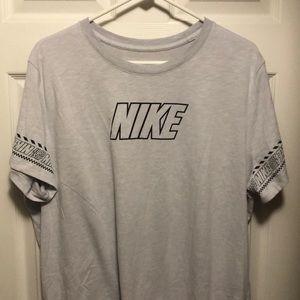 Nike dri fit sleeve pattern just do it swoosh logo
